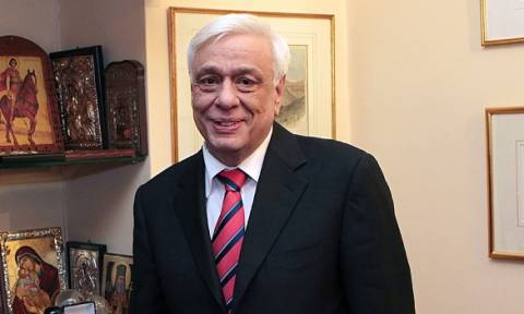 President Pavlopoulos received Cyprus Parliament President Yiannakis Omirou