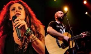 Ο Δημήτρης Καρράς και η Λόλα Γιαννοπούλου στο Φεστιβάλ Αμαρουσίου