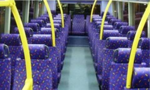 Почему в транспорте сиденья ярких расцветок?
