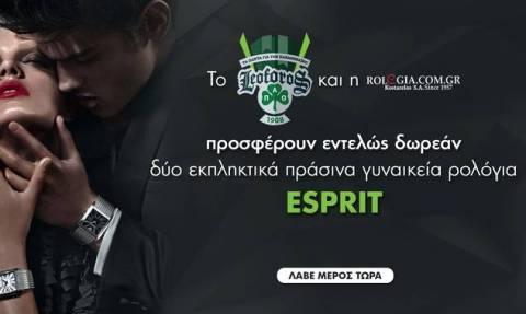 Κερδίστε 2 απίθανα πράσινα ρολόγια από το leoforos.gr