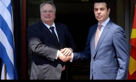 Δρόμος εμπιστοσύνης Ελλάδας - Σκοπίων με 11 ΜΟΕ