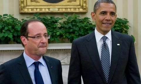 Ομπάμα σε Ολάντ: Δεν σε κατασκοπεύουμε