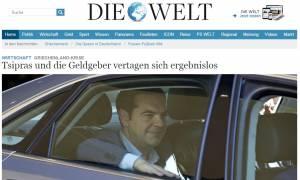 Γερμανικός Τύπος: Επικεντρώνεται στην αποτυχία επίτευξης συμφωνίας με την Ελλάδα