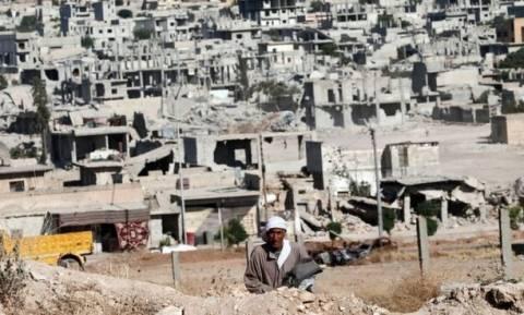Χαοτική η κατάσταση στο Κομπάνι (photos&videos)