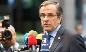 Σαμαράς: Κακή συμφωνία ή χρεοκοπία το δίλημμα της Ελλάδας