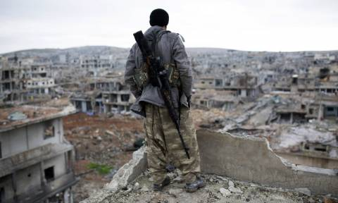 Συρία: Σφοδρή επίθεση του Ισλαμικού Κράτους στο Κομπάνι