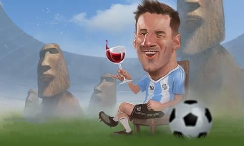 Κόπα Αμέρικα: Δωρεάν αλκοόλ για τα γκολ του Μέσι στην κόντρα με Ροντρίγκεζ