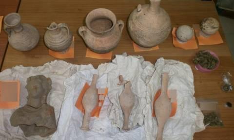 Πιερία: Συνελήφθη 4μελη οικογένεια για αρχαιοκαπηλία (photos)