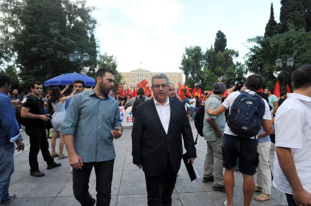 Συλλαλητήριο του ΚΚΕ στο Σύνταγμα κατά της νέας συμφωνίας  (photos)