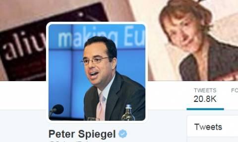 Άρχισαν οι διαρροές πληροφοριών από τους ευρωπαίους εκβιαστές - Tweet του Peter Spiegel