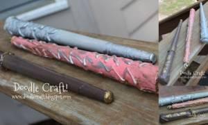 DIY: Μαγικά ραβδάκια Χάρι Πότερ