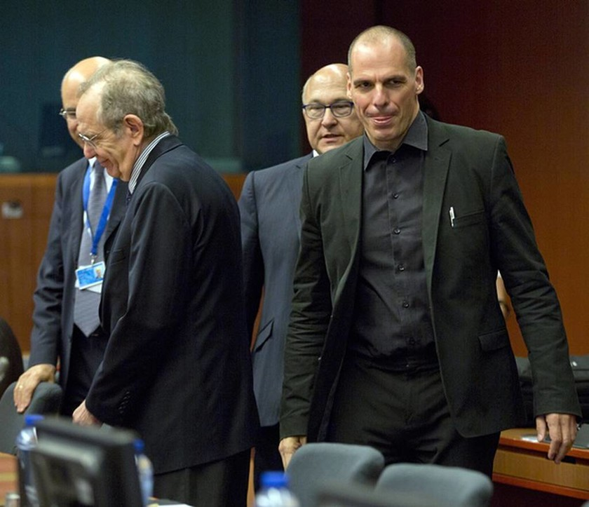 Eurogroup: Οι πρώτες εικόνες μέσα από τη συνεδρίαση των Ευρωπαίων ΥΠΟΙΚ