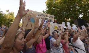 Ισπανία: Μεγαλειώδης πορεία αλληλεγγύης υπέρ της ελληνικής κυβέρνησης (photos)