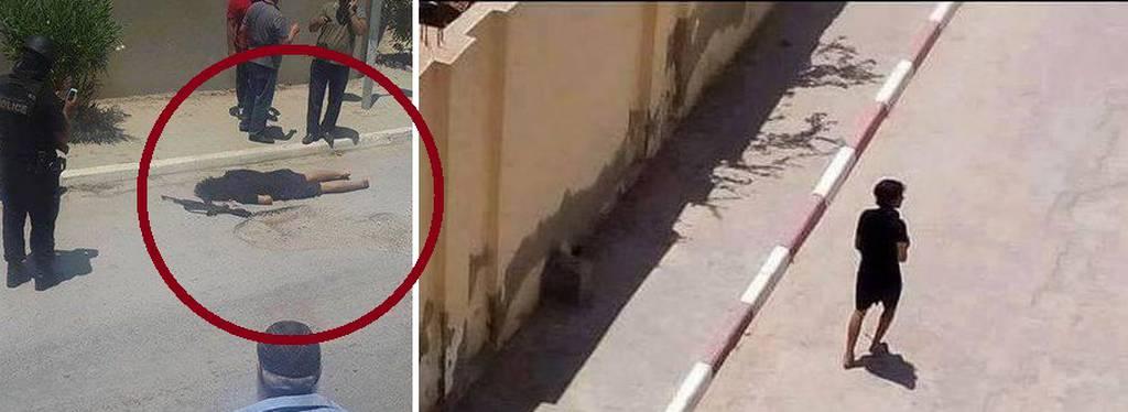Τυνησία: Ανατριχιαστικές φωτογραφίες του τζιχαντιστή με το καλάσνικοφ που έσπειρε τον θάνατο (pics)