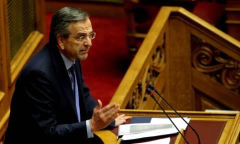 Δημοψήφισμα - Ο Σαμαράς άρχισε τις απειλές: Θα γίνετε σύντομα παρελθόν, κ. Τσίπρα!
