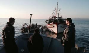 Περισσότεροι από 600 μετανάστες εντοπίστηκαν μόνο στο λιμάνι της Μυτιλήνης το Σάββατο (27/6)