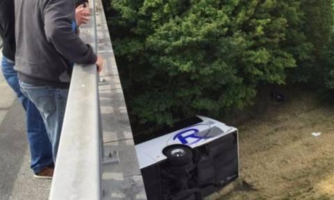 Βέλγιο: Λεωφορείο γεμάτο με Βρετανούς μαθητές ανετράπη σε αυτοκινητόδρομο-Νεκρός ο οδηγός