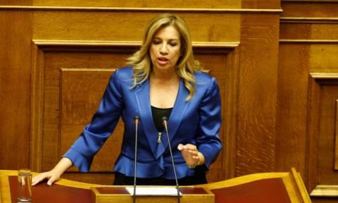 Δημοψήφισμα: Συναντήσεις με Α. Σαμαρά και Δ. Κουτσούμπα θα έχει η Φώφη Γεννηματά