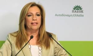 Έκκληση Γεννηματά σε ΕΕ και Τσίπρα για έναν έντιμο συμβιβασμό
