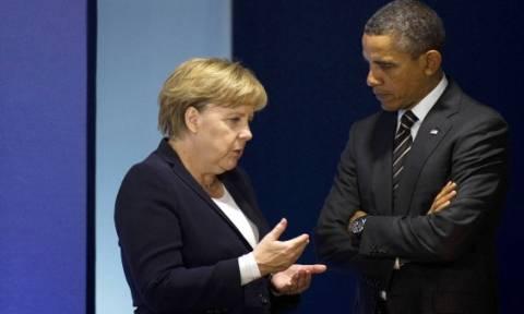 Τηλεφωνική επικοινωνία Ομπάμα – Μέρκελ