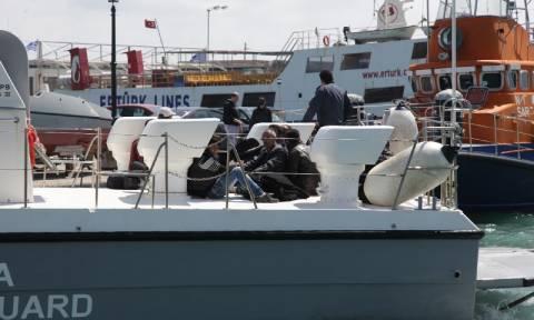 Ξεπερνούν τους 1.000 οι μετανάστες που εντοπίστηκαν στο ανατολικό Αιγαίο μέσα σ' ένα τριήμερο