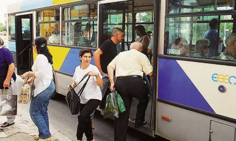 Means of transport in Athens free from June 29 to July 6