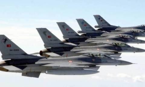 Провокации турецких ВВС над Эгейским морем