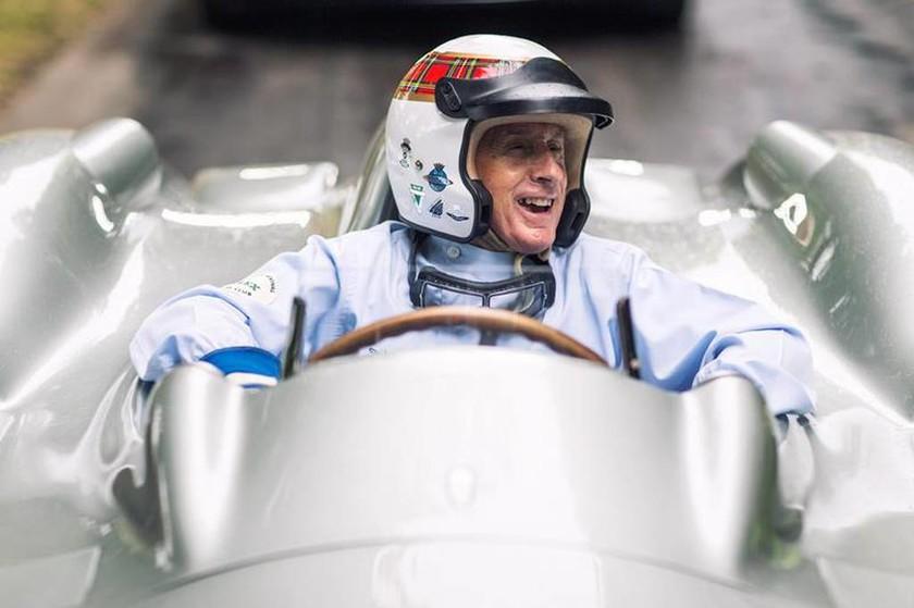 Ο Sir Jackie Stewart οδήγησε δύο μονοθέσια στο FoS