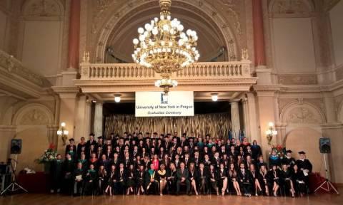 To University of New York in Prague μέλος του Ομίλου New York College
