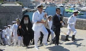 Υδρα: Το Πολεμικό Ναυτικό στα «Μιαούλεια 2015» (pics)