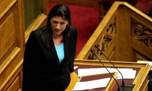 «Κεραυνοί» Κωνσταντοπούλου: Αντιδημοκρατική η παρέμβαση Γιούνκερ – Προσπαθεί να παραπληροφορήσει