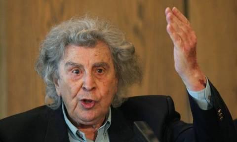 Δημοψήφισμα 2015 - Μίκης Θεοδωράκης: «Όχι» σε όλες τις επαχθείς συμφωνίες των Θεσμών