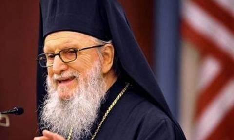 Μήνυμα ομοψυχίας του Αρχιεπισκόπου Αμερικής προς τον ελληνικό λαό