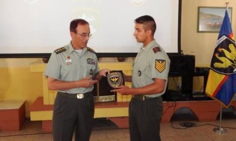 Στα ακριτικά φυλάκια του στρατού οι σπουδαστές της Σχολής Μονίμων Υπαξιωματικών (ΣΜΥ)
