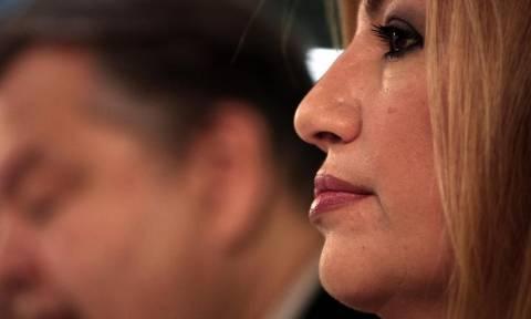Φώφη Γεννηματά: Στιγματισμένη με τη χρεοκοπία η κυβέρνηση