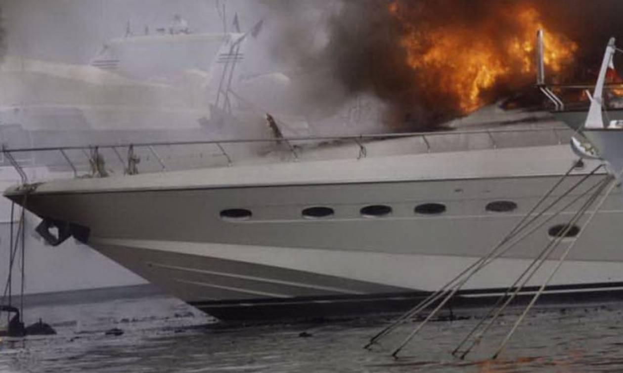 Βυθίστηκε θαλαμηγός στη Ζέα μετά από εκδήλωση πυρκαγιάς