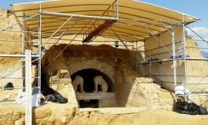 Αμφίπολη: Ενέργειες για την προστασία του μνημείου Καστά