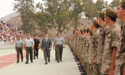 Αλλαγές στα προγράμματα νεοσυλλέκτων της Εθνικής Φρουράς Κύπρου