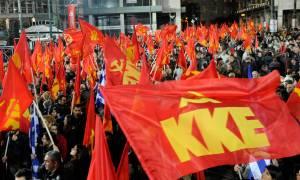 Δημοψήφισμα 2015: Συγκέντρωση του ΚΚΕ στο Σύνταγμα