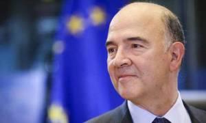 Μοσκοβισί: Η θέση της Ελλάδας είναι στην Ευρωζώνη