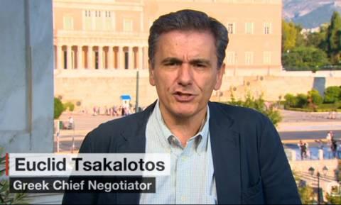 Δημοψήφισμα – Τσακαλώτος: Δύο γίγαντες συγκρούονται - η Ελλάδα πρέπει να αποδεχτεί σκληρούς όρους
