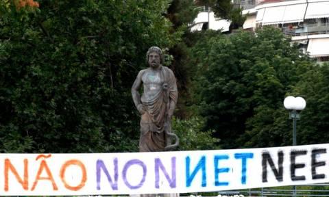 Δημοψήφισμα – Γαλλία: Ογκώδης διαδήλωση - Οι Γάλλοι προτρέπουν τους Έλληνες να ψηφίσουν «όχι»
