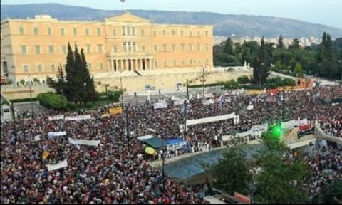 Δημοψήφισμα 2015 - Συγκεντρώσεις υπέρ του «ναι» και του «όχι» στην Αθήνα