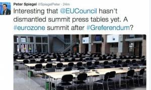 Δημοψήφισμα: Για ποιο λόγο ο Π. Σπίγκελ πιστεύει ότι θα υπάρξει νέο Eurogroup;