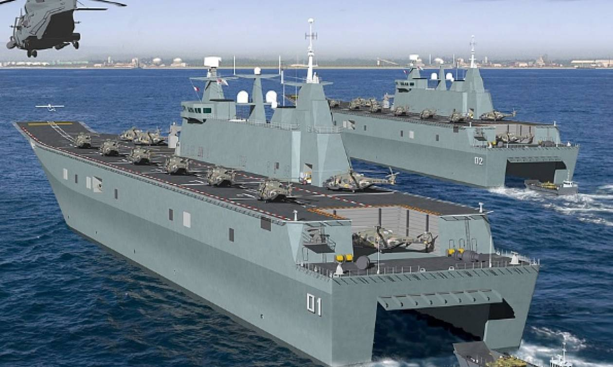 Αποκαλυπτήρια για πλοία που επιθυμούν να αντικαταστήσουν τα Mistral