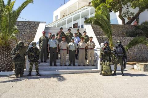 Επίσκεψη Αρχηγού Ενόπλων Δυνάμεων της Μάλτας στη ΚΕΕΔ (pics)