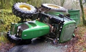 Ιωάννινα: Αγρότης καταπλακώθηκε από τρακτέρ και ακρωτηριάστηκε