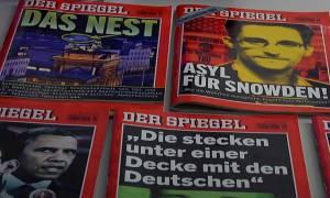 Γερμανία: Μήνυση για κατασκοπεία υπέβαλε το περιοδικό Der Spiegel