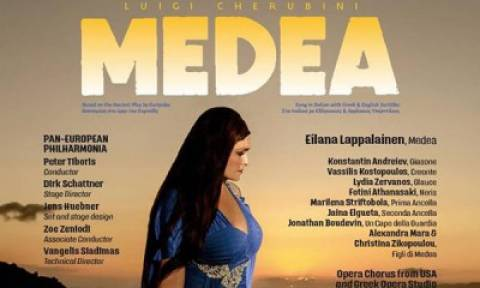 Medea, τoυ Luigi Cherubini στο Θέατρο Απόλλων στη Σύρο