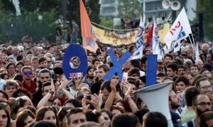 Δημοψήφισμα 2015: Η πανοραμική φωτό της συγκέντρωσης για το ΟΧΙ